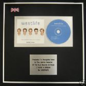 WESTLIFE - CD single Award - I HAVE A DREAM